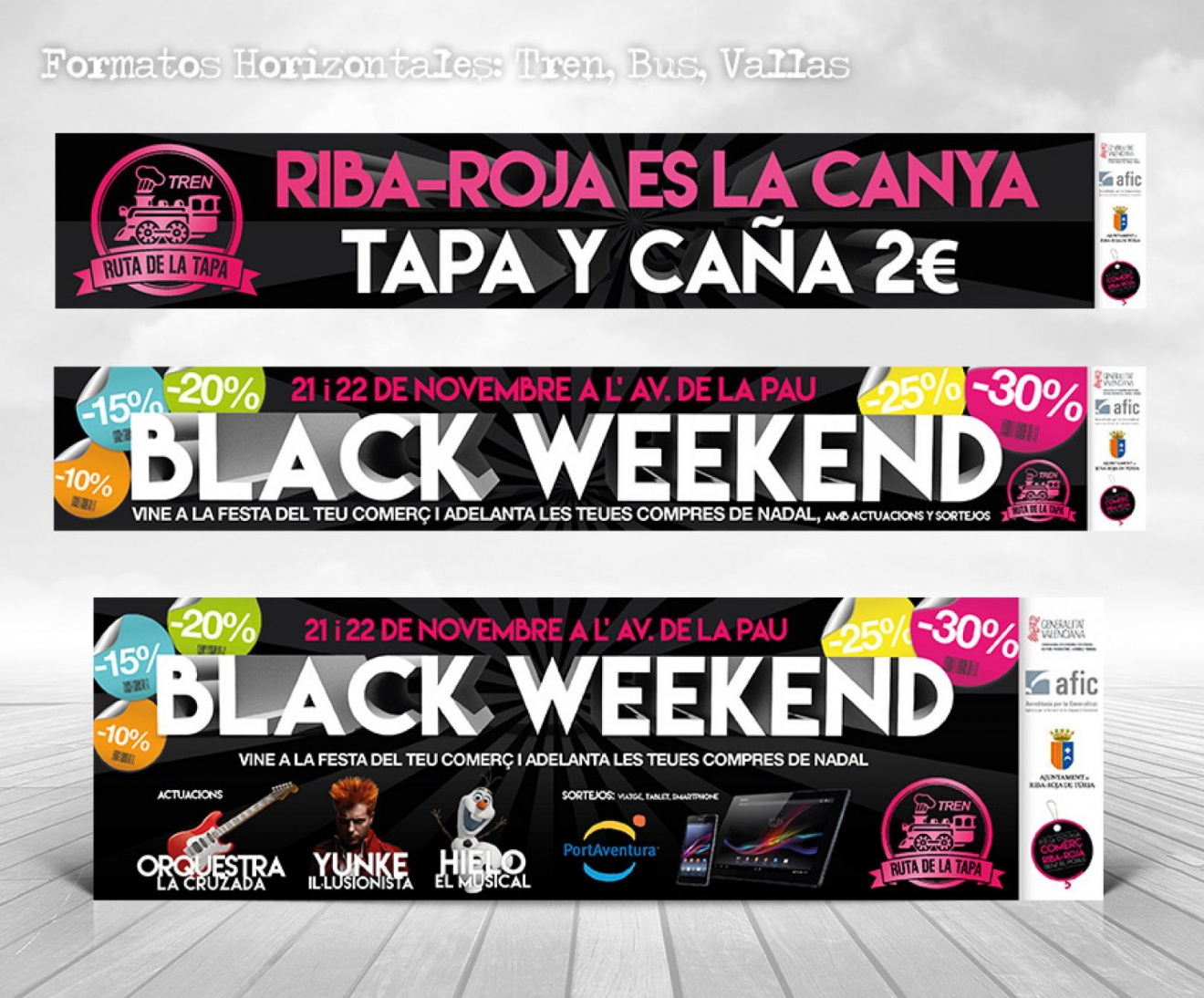 Black Weekend Feria de comercio