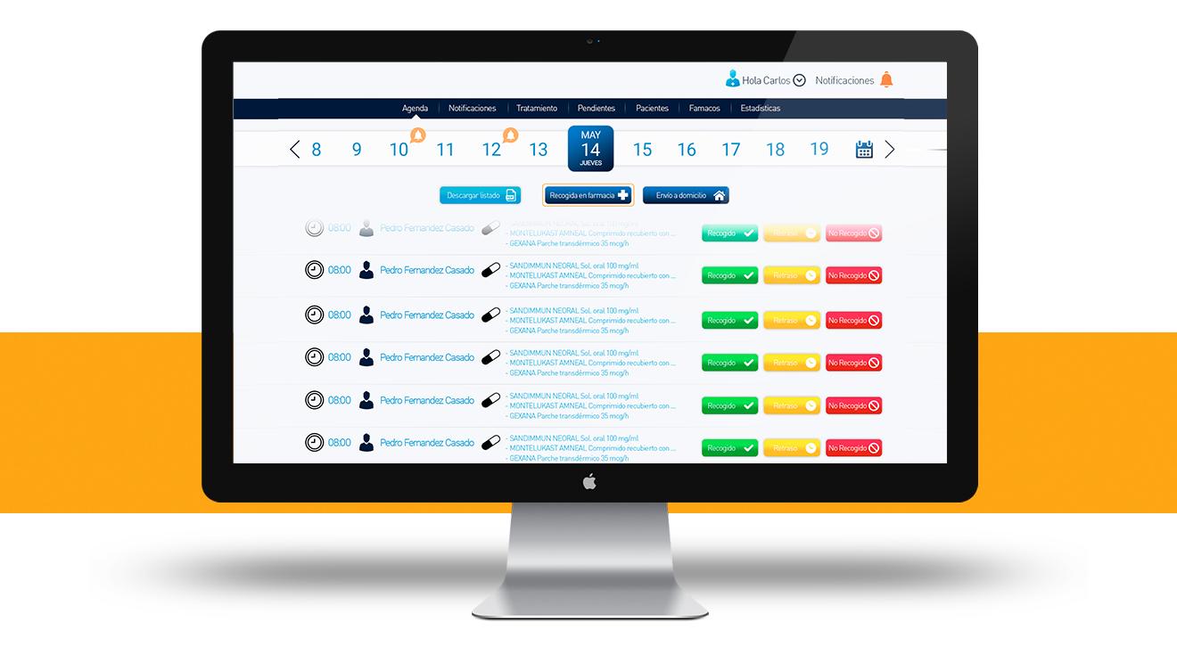 Plataforma y app para gestión de Farmacia