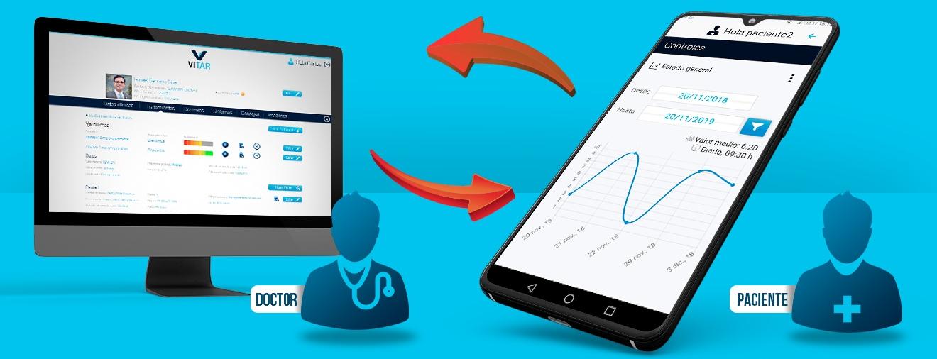 Plataforma y app para control de pacientes
