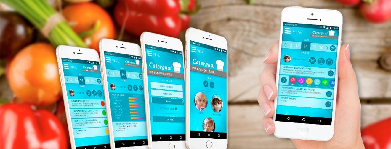 App para control de alimentación en comedores infantiles