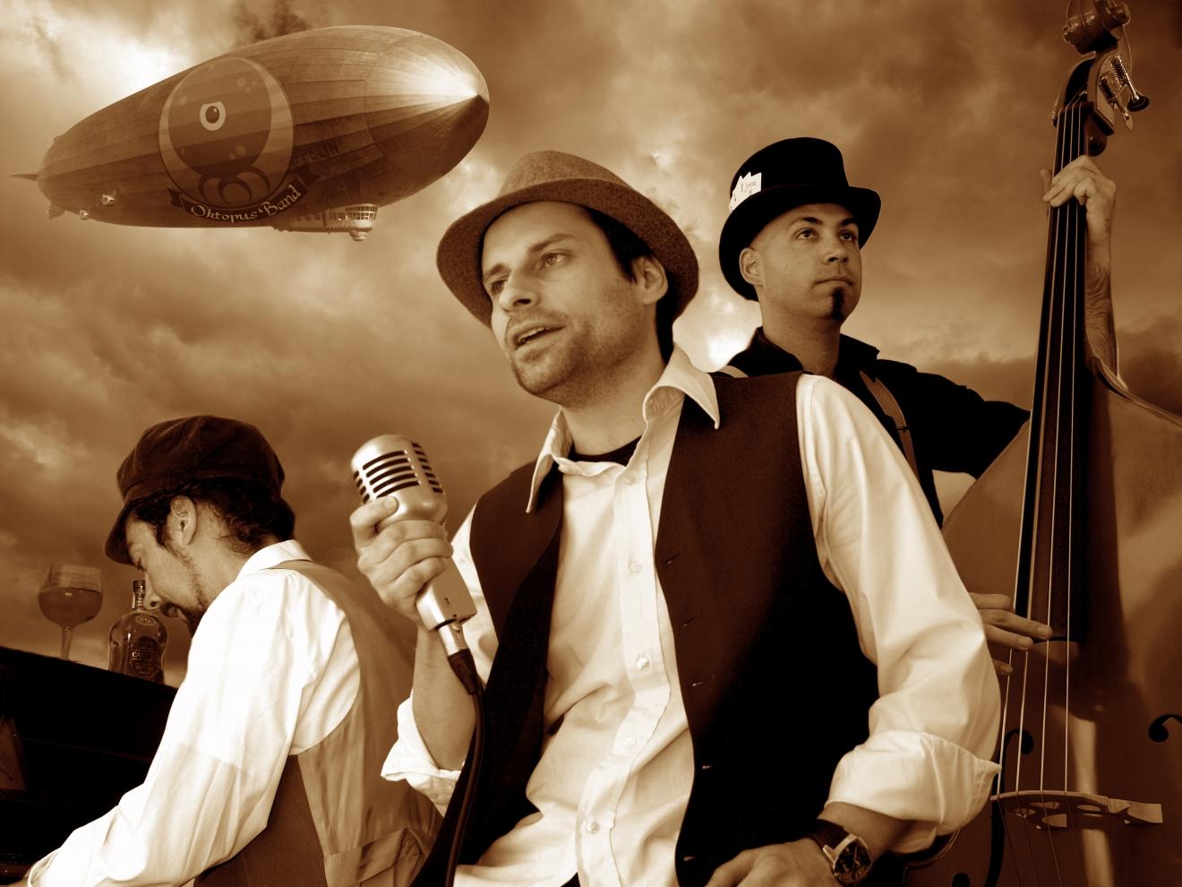 Retoque para cartel Oktopus band
