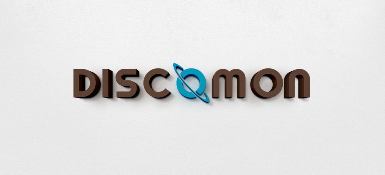 Identidad corporativa Discomon