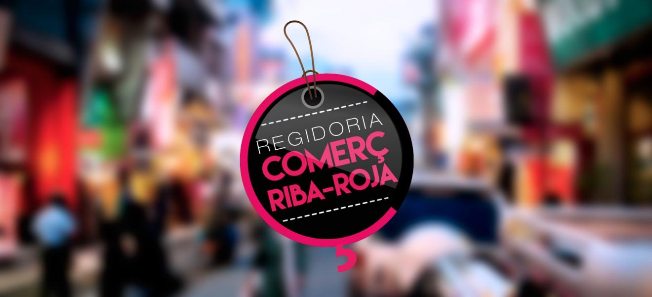 Logotipo para la Regidoría de comerç de Riba-Roja de Túria