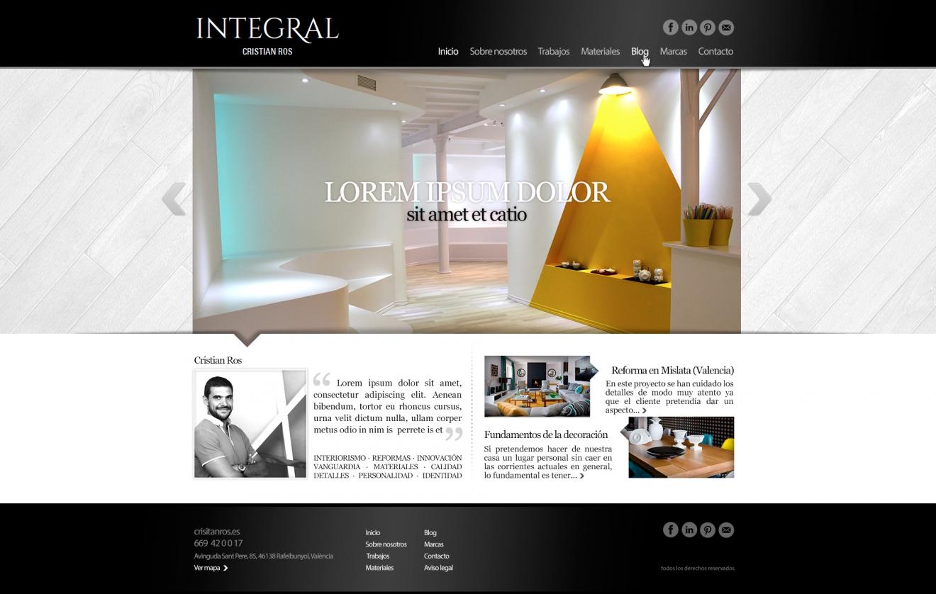 Web Cristian Ros