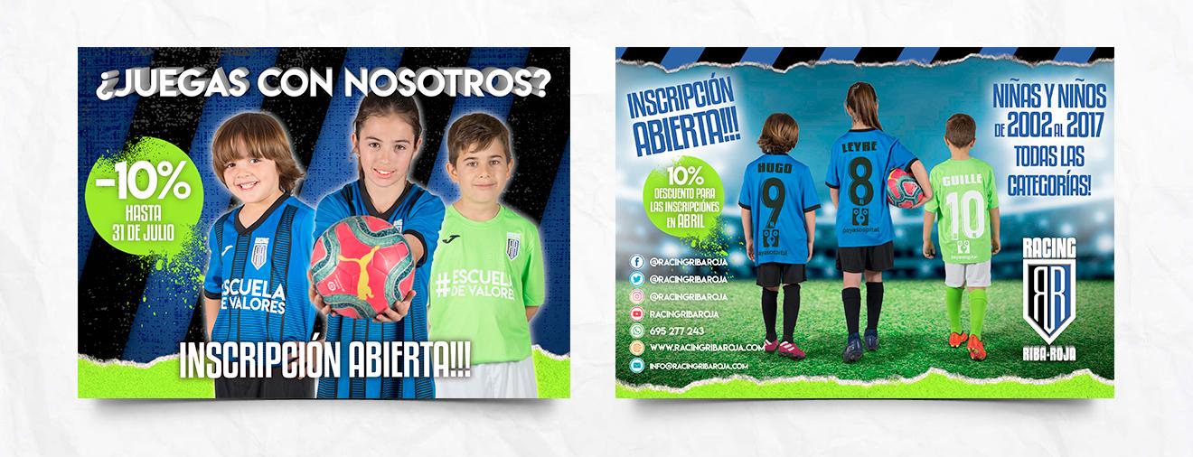 campaña publicidad club de fútbol
